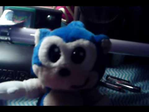 Sega World:Sydney Australia:Sonic The Hedgehog 1997: Sonic The Hedgehog Plush Toy Review 2