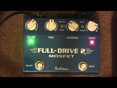 Fulltone Fulldrive 2 Mosfet Overdrive & Distortion Pedal Demo