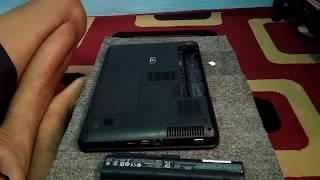 Cara membuka Hard disk, RAM, dan wi-fi card laptop HP 1000 core i3