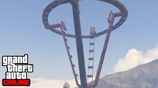 ESTO QUE ES?!?! UYUYUY.... - Gameplay GTA 5 Online Funny Moments (Carrera GTA V PS4)