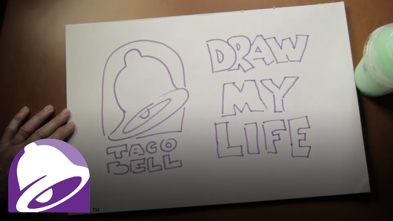 Draw My Life | Taco Bell - YouTube