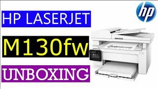 HP LaserJet Pro MFP M130fw Unboxing & Review!!
