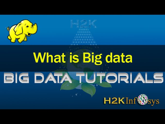 What is BIG DATA      BIG DATA Tutorial for Beginners - YouTube