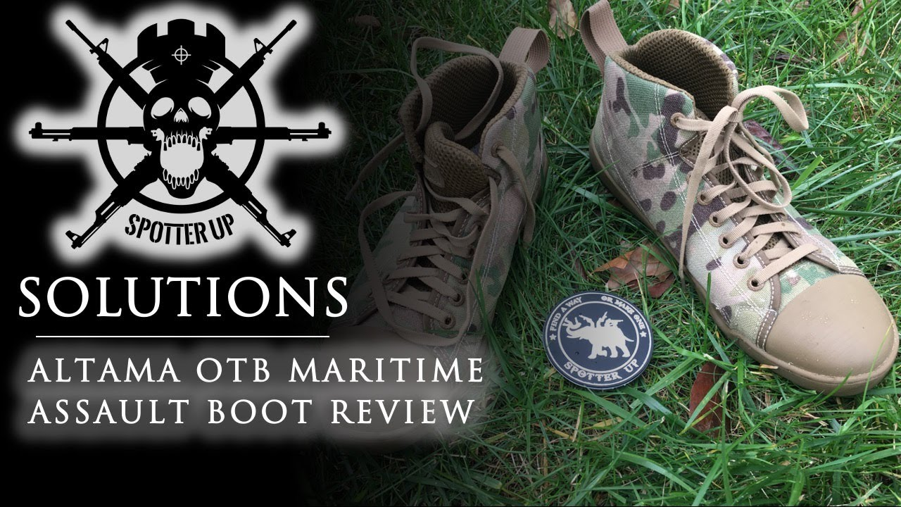 7f1c7dea33c Altama OTB Maritime Assault Boot First Impressions - YouTube