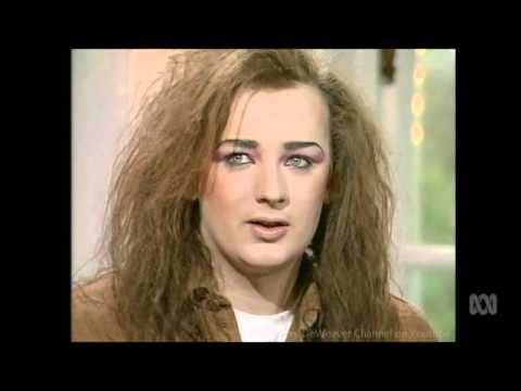 """Boy George '84 """"Who's A Tart?"""" Part 2 Interview by Molly Meldrum"""