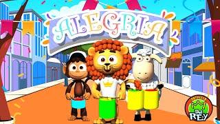 Alegría - La Patrulla del Rey | Canciones Infantiles (Vídeo de Letras)