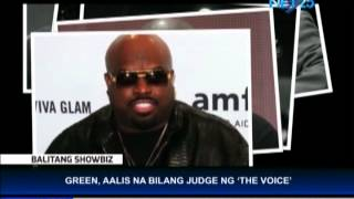 cee lo green leaves the voice