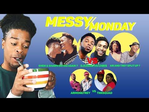 DRAMA ALERT ! ! IamJustAiri Exposing Trey, Sheik & Shawn, Ar'mon&Trey vs TNK | MessyMonday