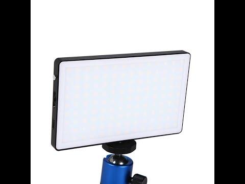LITUFOTO N126 Panel LED  con opción de uso como como Powerbank para cargar el móvil