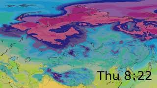 Eastern Europe Surface Temperature Weather Forecast HD: 28 Jan 2020 [Updated at 1200 hours UTC]