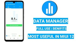 My Data Manager   Most Useful in MIUI 12    Best App to Save Your Data And Money screenshot 2