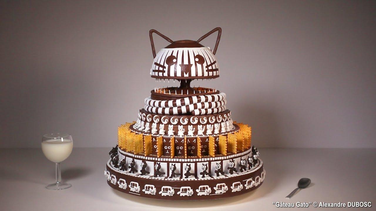 Gâteau Gato ( Gâteau CHAT ) - Alexandre DUBOSC