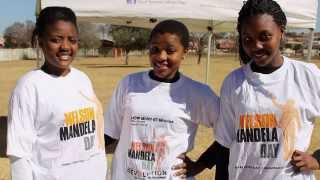 Cheesekids for humanity Mandela day 2014