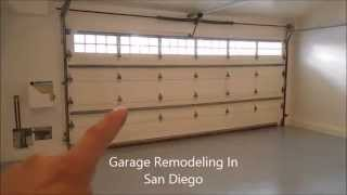 Garage Remodeling - 619-850-4794