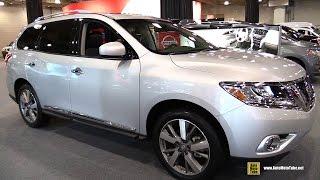 2015 Nissan Pathfinder Platinum AWD - Exterior and Interior Walkaround - 2015 New York Auto Show