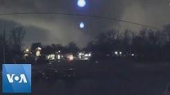 Door Camera Captures Tornado Moving Through Nashville