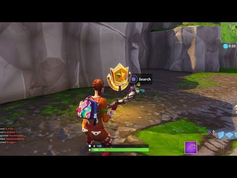 """Follow the treasure map found in Risky Reels"" Location Fortnite Season 5 Week 1 Challenges!"