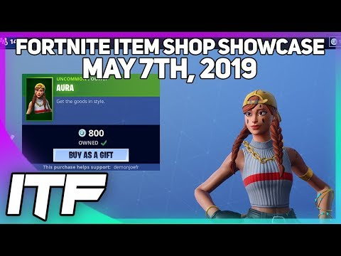 Fortnite Item Shop *NEW* AURA AND GUILD SKINS! [May 7th, 2019] (Fortnite Battle Royale)