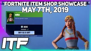 Fortnite Item Shop 'NEW' AURA ET GUILD SKINS! [7 mai 2019] (Fortnite Battle Royale)