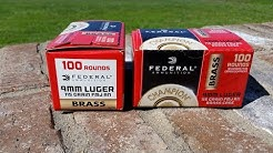 Walmart Ammo Score Federal 9mm In the New Packaging 5/31/17