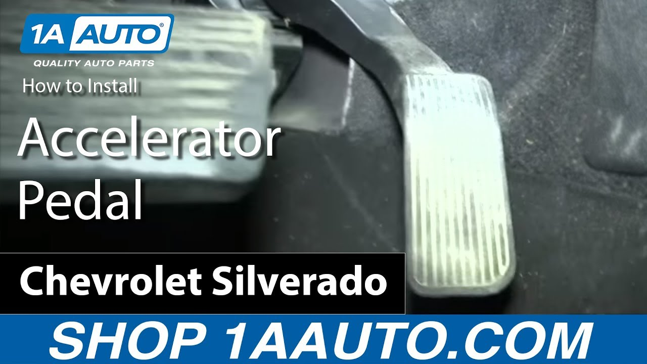 how to replace accelerator pedal position sensor 07 11 chevy silverado 1500 [ 1280 x 720 Pixel ]