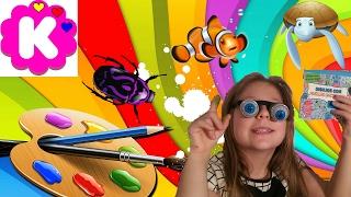 как рисовать своими руками распаковка игры для детей