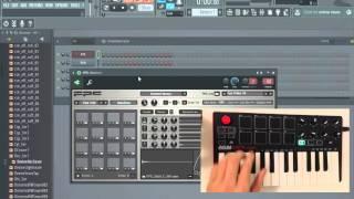 Akai MPK Mini MK2 and FL Studio 12 - PADS + Transport Setup