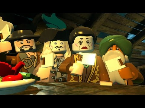 LEGO Pirates Of The Caribbean - 100% Guide #14 - The Brethren Court (All Collectibles)