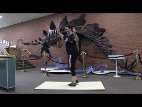 Tap the Dinosaur-- Western Style