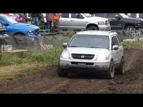 Honda Pilot Off-Road Mudding