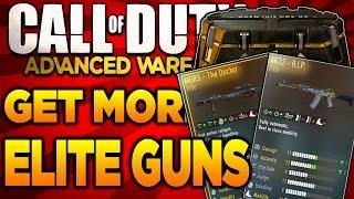 Advanced Warfare - How To Get More Elite Guns in Supply Drops! - Double XP, 24/7 Comeback!
