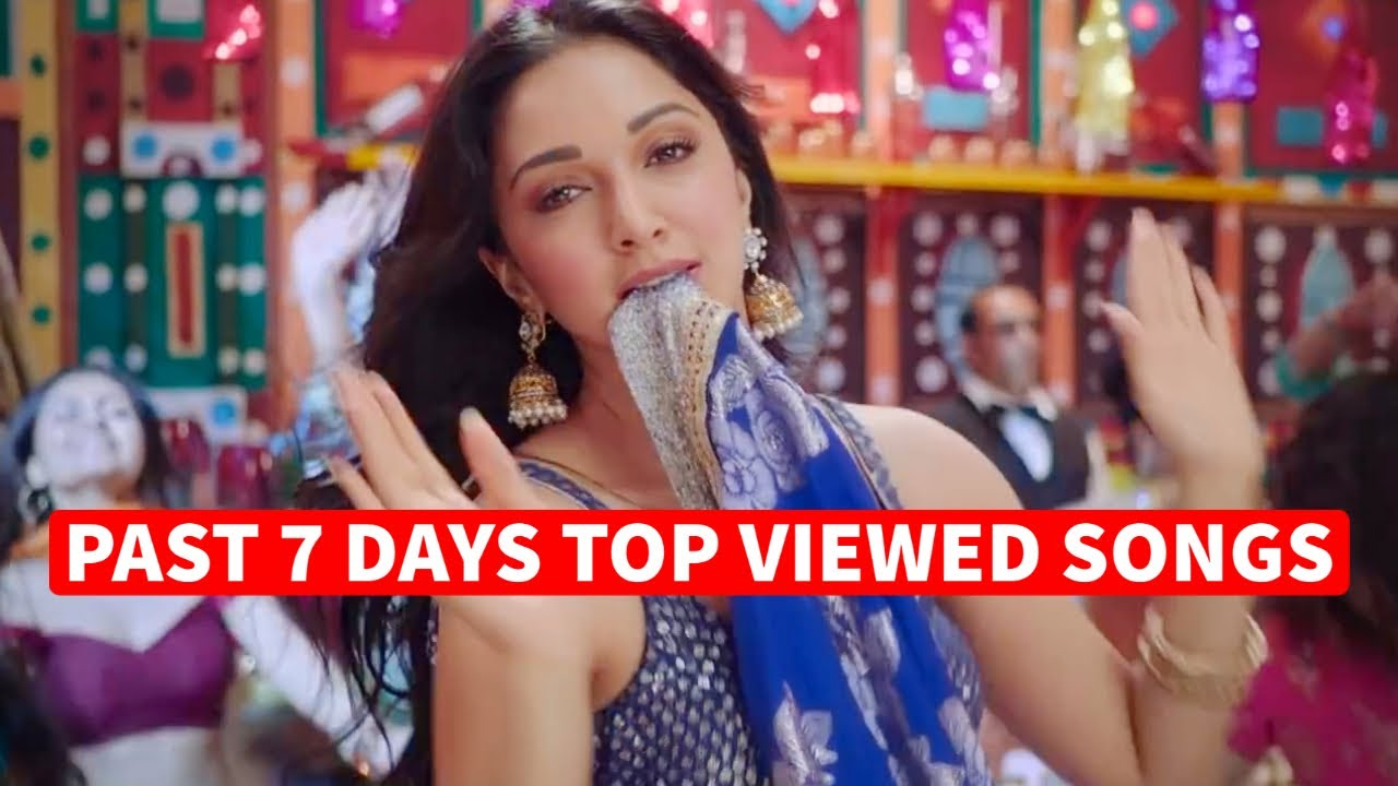 Past 7 Days Most Viewed Indian Songs on Youtube [21 September 2020]