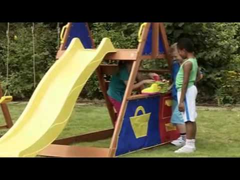 Plum Impala Wooden Play Centre | Outdoor Toys | ELC UK