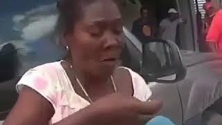 Безубая негритянка