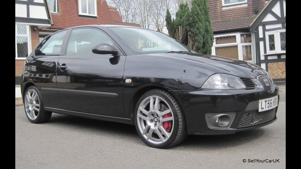 sold 56 seat ibiza 1 9 tdi cupra 6 speed manual fss. Black Bedroom Furniture Sets. Home Design Ideas