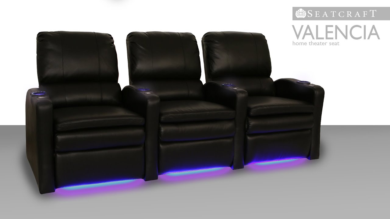 Seatcraft Valencia Media Room Seating
