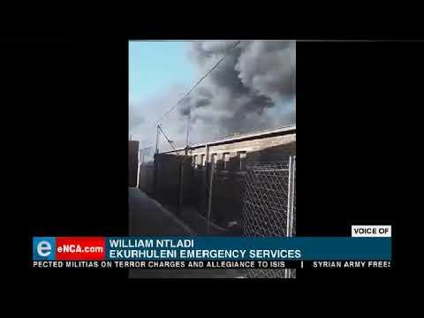 Boksburg explosion 4 injured