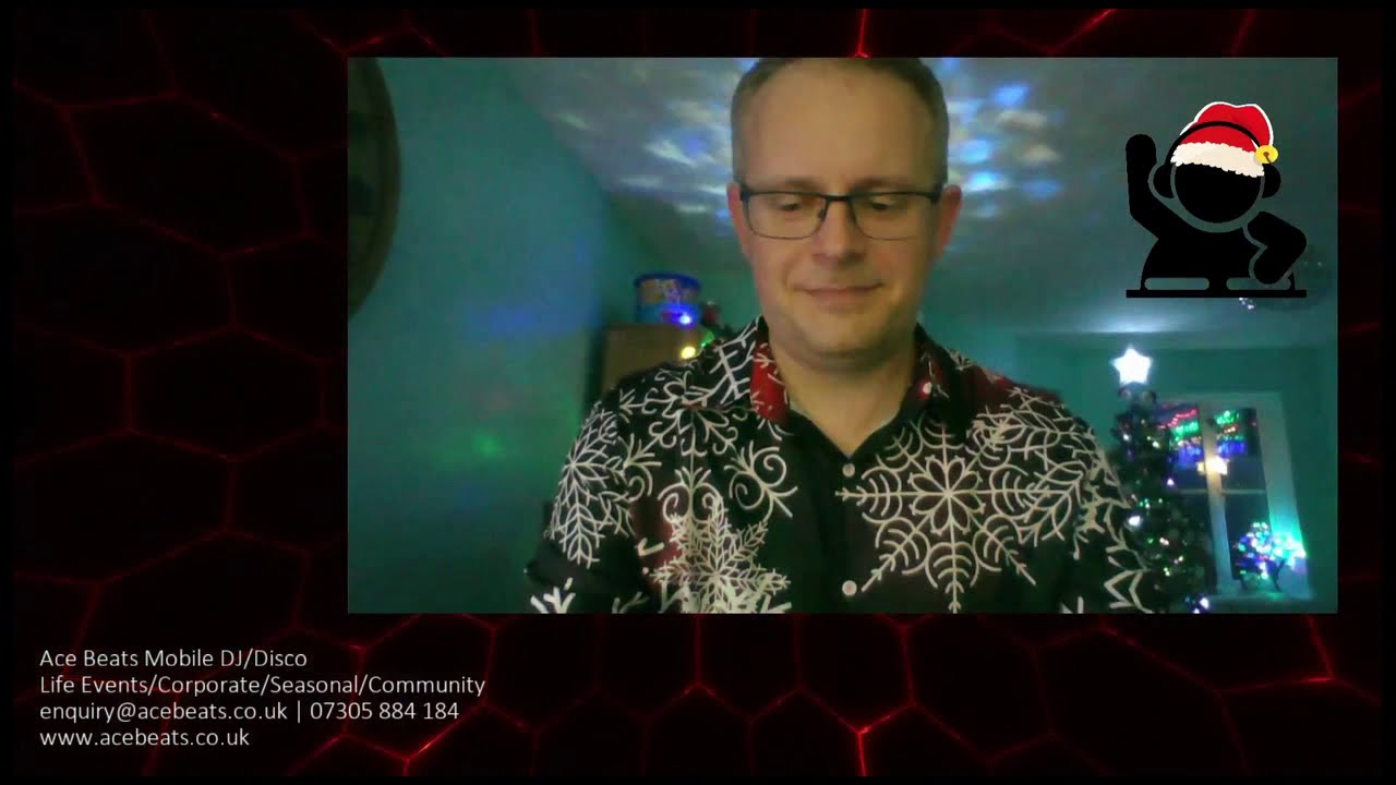 Adult's Streaming Christmas Disco 2020 - Best Bits!
