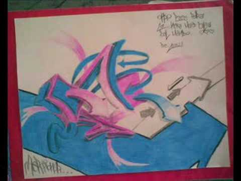 Bilosony2 graff boceto 2009 doovi - Graffitis en papel ...