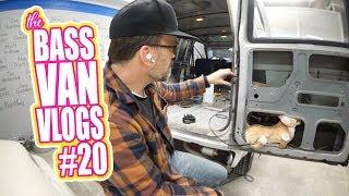 How to make a van slider pop! (and rear door) - Bass Van Vlogs #20