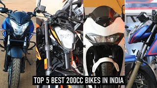 2021 Top 5 Best 200CC Bikes In India    Under 1.5 Lakhs To 2 Lakhs    My opinion    Best 200CC bikes