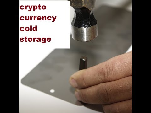 Cryptocurrency cold storage | Simple Hardwallet Back Up