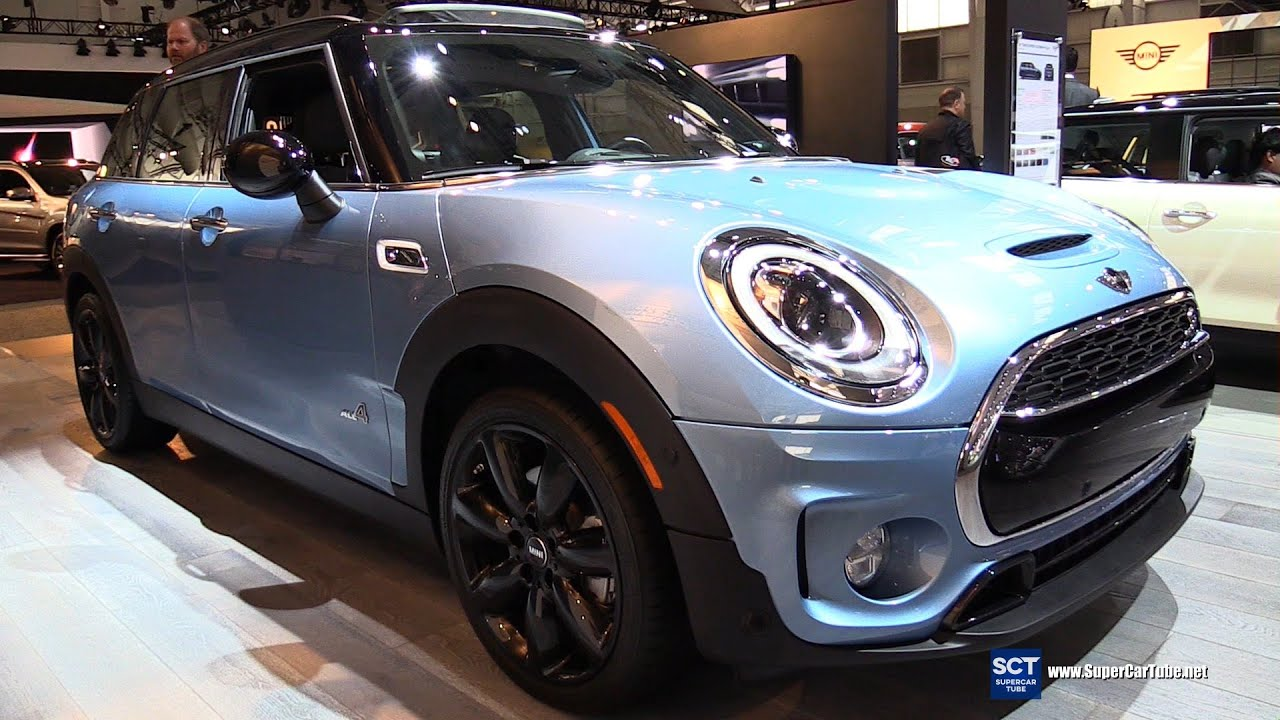 2017 mini cooper s clubman all4 exterior and interior walkaround debut at 2016 new york auto show youtube