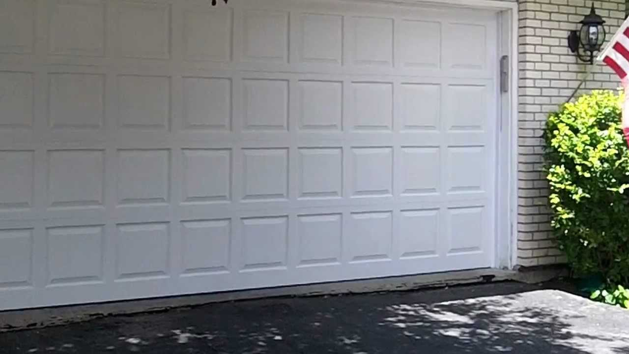 medium resolution of a wayne dalton garage door in oak brook il real wood overhead garage doors youtube