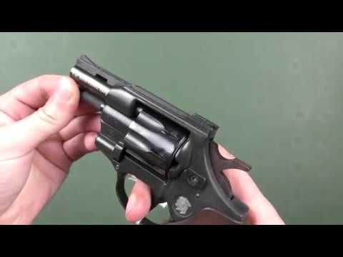 "Револьвер Weihrauch HW4 2.5"" з дерев'яною рукояттю"