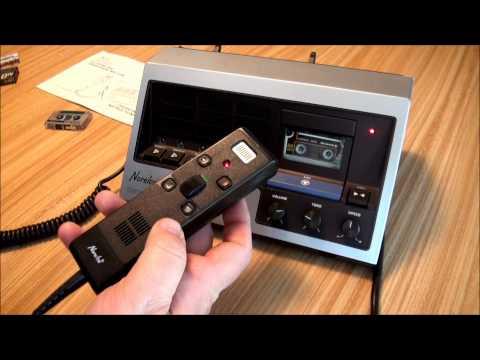 Norelco Century Dictation Machine