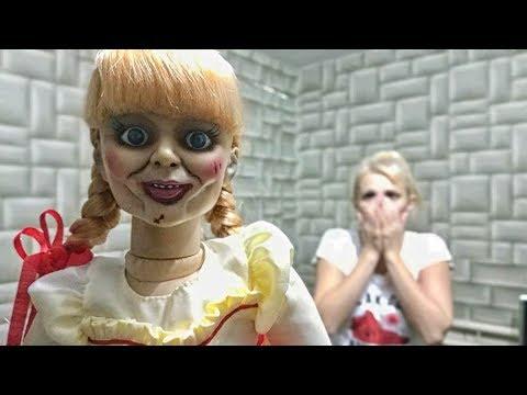 Кукла Аннабель в реальной жизни • Дневник Карины Страшилки