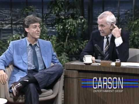 "Paul McCartney Discusses the Frantic Years on ""Tonight Show Starring Johnny Carson"" - 1984"