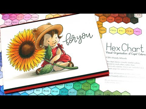 Sunflower Girl, Hex Chart, and Facebook Live