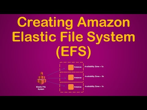 Creating and Using AWS EFS (Elastic File System) on EC2 instance - Demo